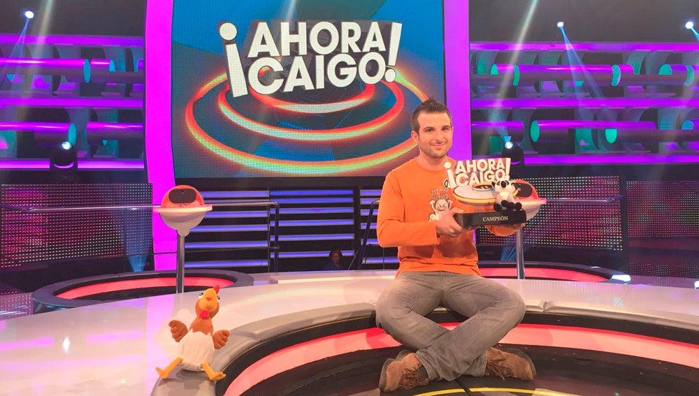 Así se grabó la final del especial campeón de España de '¡Ahora Caigo!'