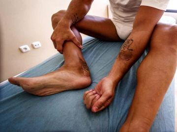 El injerto de Santi Cazorla en su tobillo derecho