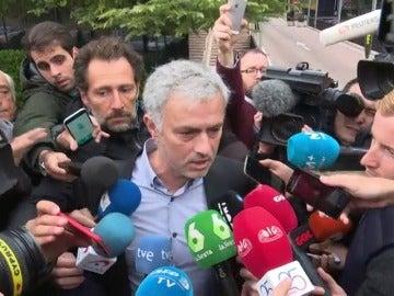 Declaraciones de Mourinho a la salida del juzgado en Pozuelo de Alarcón