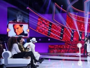 David Civera y Conchita nos acompañarán en la séptima gala de 'Tu cara me suena'