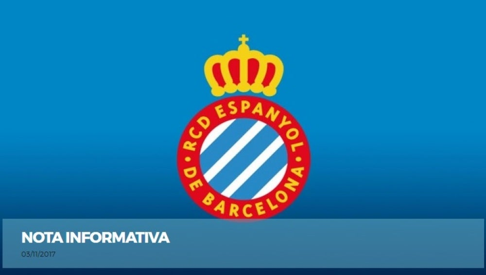 Comunicado del RCD Espanyol