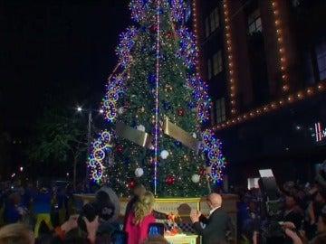 Harrods enciende las luces de Navidad