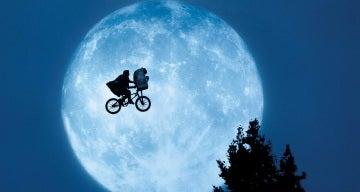 Portada de la película 'E.T. el extraterrestre'