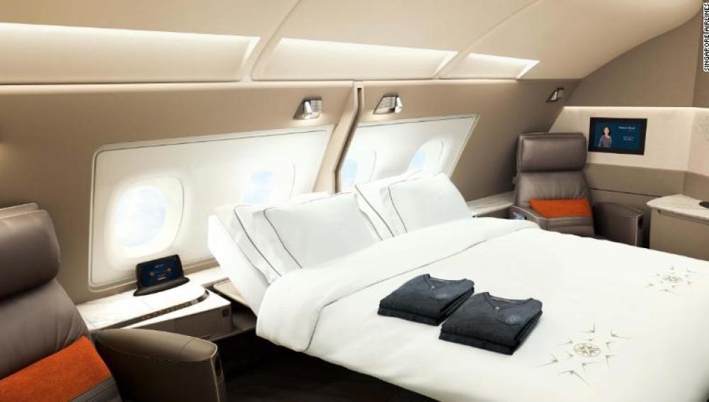 Nuevos aviones de lujo de Singapore Airlines