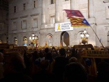 Concentración en Plaza Sant Jaume
