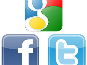 Google, Facebook y Twitter