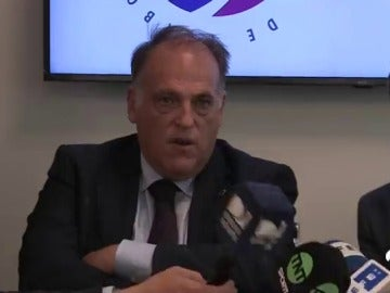 Tebas contesta a Guardiola