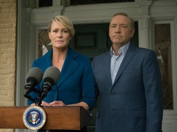 Claire y Frank Underwood en 'House of Cards'