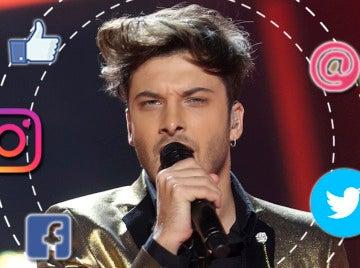 Las redes elogian a Blas Cantó tras su regreso a 'Tu cara me suena'