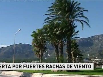 Rachas de viento de hasta 100 kilómetros por hora en el sur de Tarragona