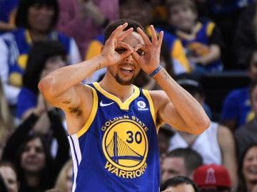 Stephen Curry, de Golden State Warriors