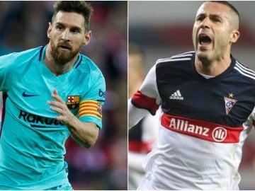 Messi e Igor Angulo