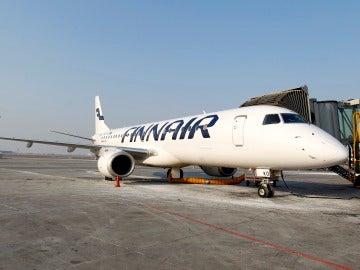 Un avión de Finnair