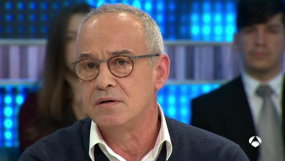 Julio Alberto, emocionado