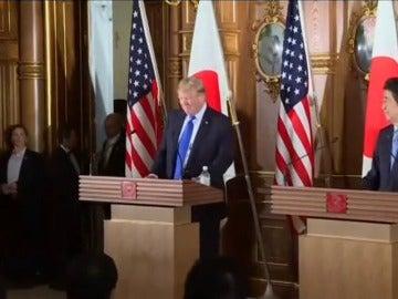 """Trump subraya que la """"era de la paciencia se ha acabado"""" con Corea del Norte"""