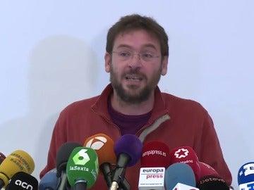 """Dante Fachin anuncia su dimisión y deja Podemos porque """"no es una herramienta útil"""""""