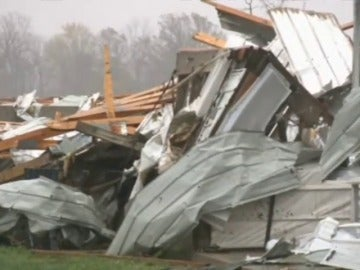 Un fuerte temporal golpea Ohio e Indiana