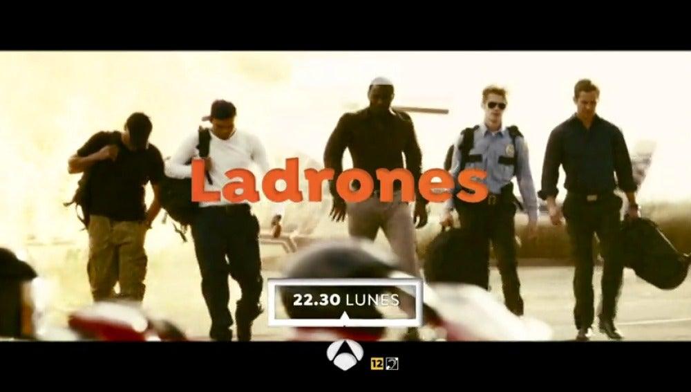 Cine de acción en Antena 3 con 'Ladrones'