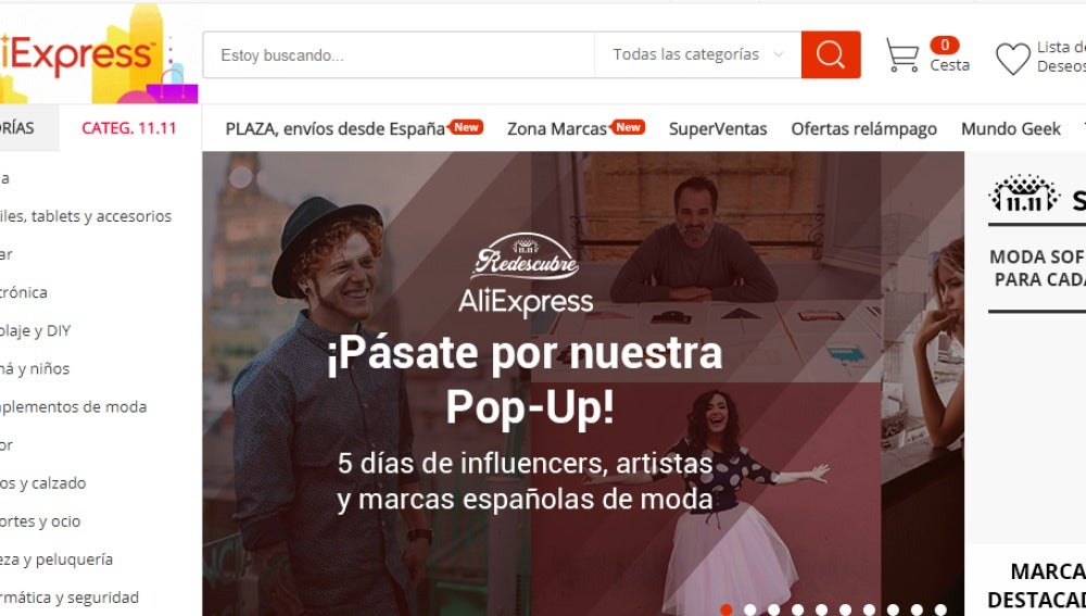 AliExpress desafía a Amazon y estrena su primer espacio 'pop up' en Madrid, en pleno Malasaña