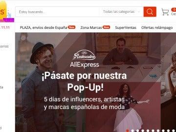 AliExpress desafía a Amazon y estrena su primer espacio 'pop up' en Madrid, en pleno Malasaña