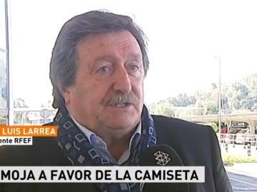 Juan Luis Larrea, presidente de la RFEF