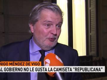íñigo Méndez de Vigo, ministro de de Educación, Cultura y Deporte