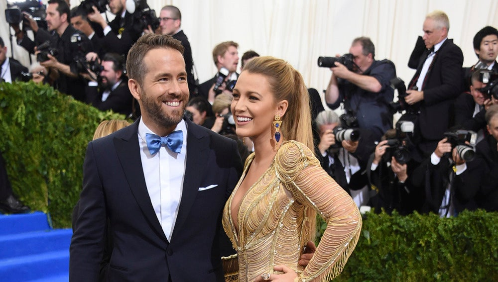 La pareja formada por Ryan Reynolds y Blake Lively