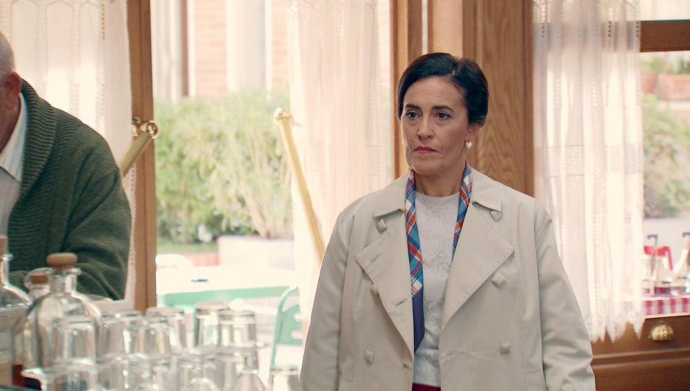 Manolita, cara a cara con Consuelo Miranda