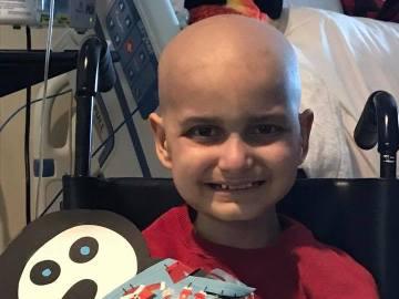 Jacob Thompson, el pequeño con cáncer terminal