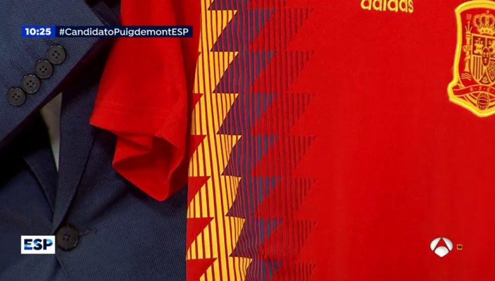 85349874ed619 La camiseta oficial de la selección española de fútbol a debate por ...