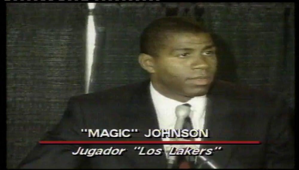 Magic Johnson anunciaba al mundo su enfermedad como portador del VIH hace 26 años