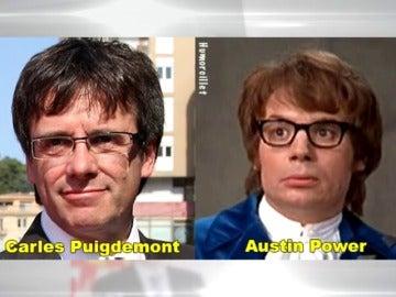 Puigdemont, Rufián y Anna Gabriel se convierten en la estrellas de los 'caganers' esta Navidad