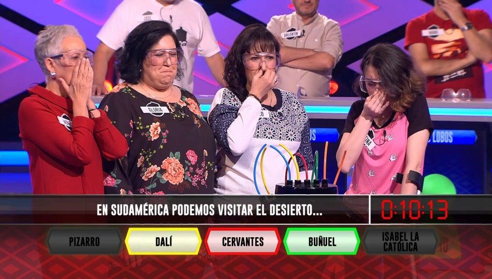 """'Las Extremis' fallan la pregunta imposible de Juanra: """"No la sabíamos"""""""