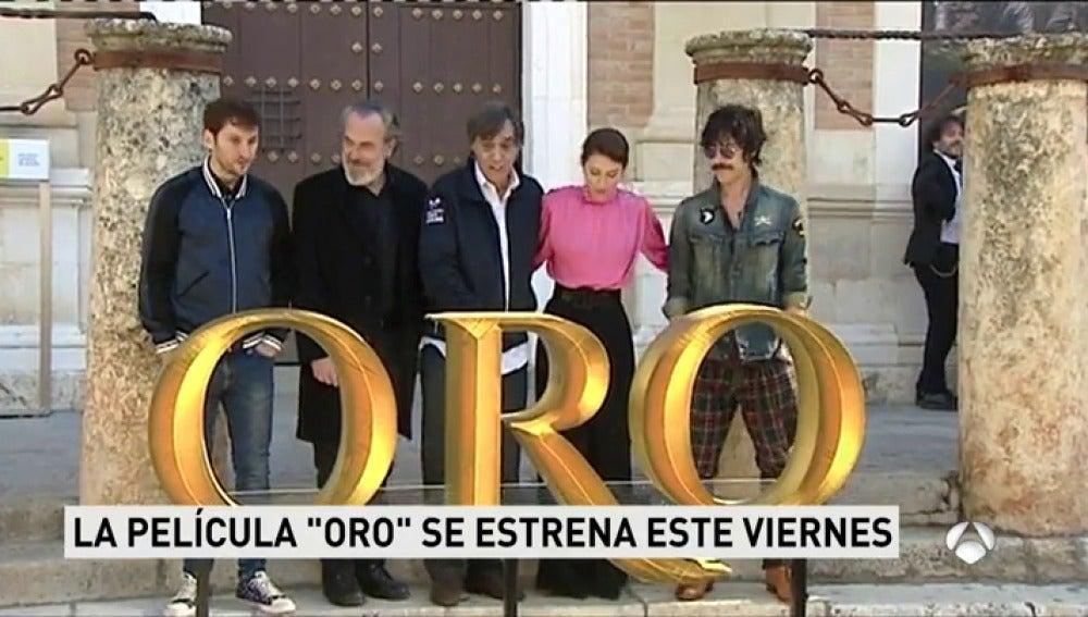 ANTENA 3 TV   Temas de actualidad   Oro La Película