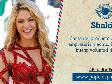 Shakira, implicada en los Papeles del Paraíso