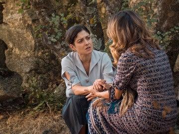 Candela culpabiliza a Venancia de la desaparición de Carmelito