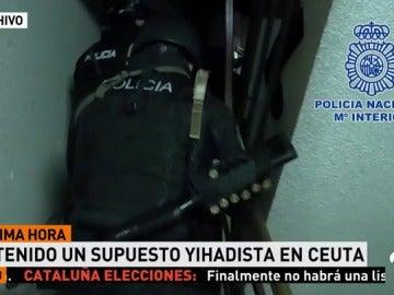 La Policía Nacional detiene en Ceuta a un español de 28 años presuntamente integrado en una red de reclutamiento de Daesh