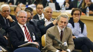 Pablo Crespo y Francisco Correa