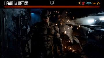 Batman se pone las gafas de sol para su visita a Madrid