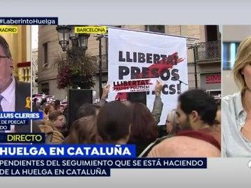 """Josep Lluis Cleries: """"Esperemos que el Gobierno no promueva el boicot a algunos productos catalanes, como está haciendo"""""""