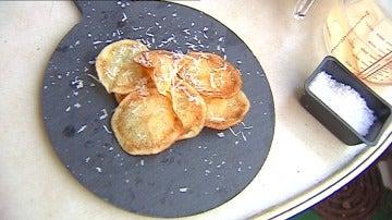 Patatas caseras al microondas