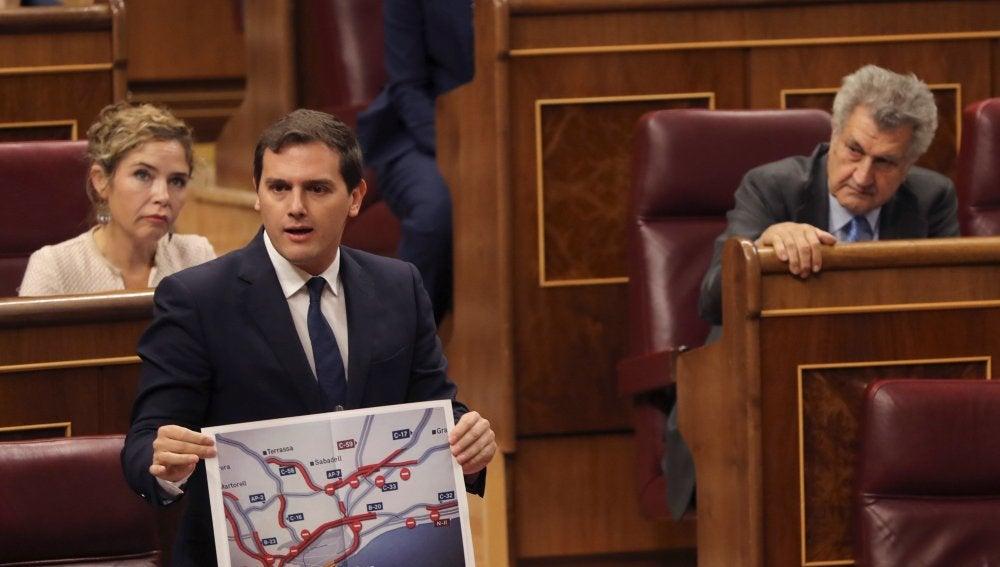 Albert Rivera en la sesión de control al Gobierno