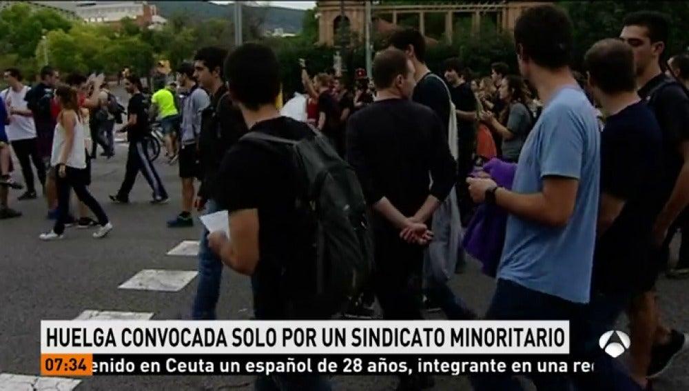 Cataluña vivirá este miércoles en forma de huelga general otra jornada de movilización para exigir la libertad de los exmiembros del Govern presos