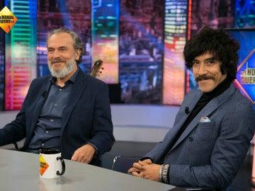 José Coronado y Óscar Jaenada en 'El Hormiguero 3.0'