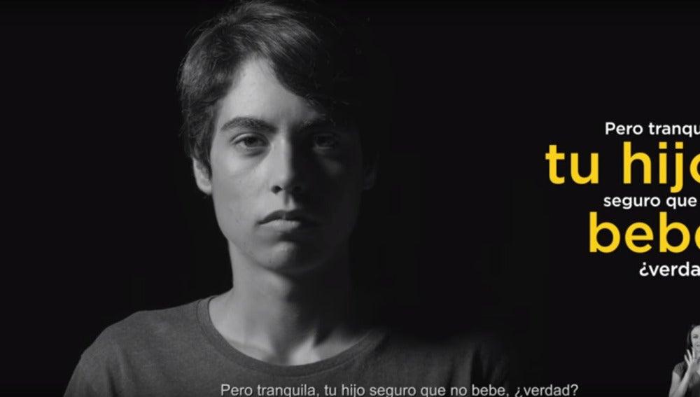 Campaña 'Menores sin alcochol'