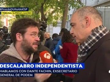 """Fachin descarta """"fichar"""" por ERC u otro partido porque la """"gracia"""" es defender la pluralidad política y """"se puede hacer sin ser diputado"""""""