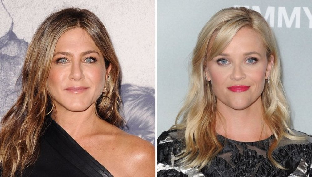 Jennifer Aniston y Reese Witherspoon