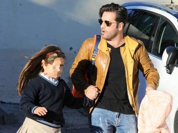 David Bustamante y su hija Daniella