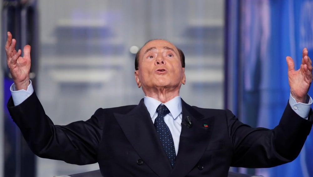 El ex primer ministro italiano Silvio Berlusconi