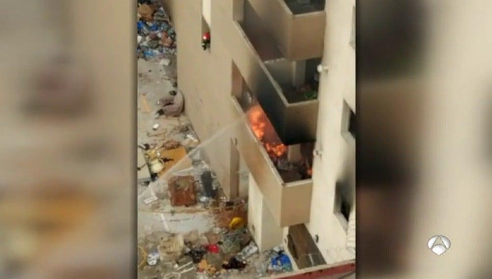 Los vecinos de un barrio de Málaga denuncian graves problemas de convivencia por culpa de los okupas